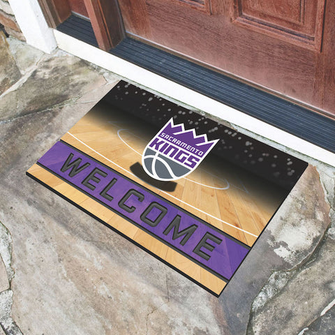 NBA Sacramento Kings Recycled Rubber CRUMB Doormat - Bed, Bath, And My Team