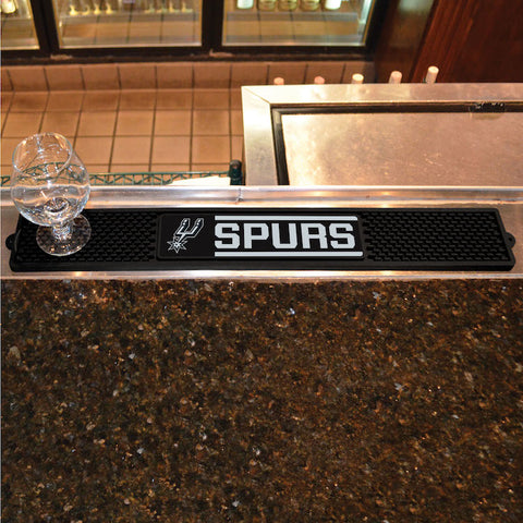 NBA San Antonio Spurs Bar and Drink Mat - Bed, Bath, And My Team