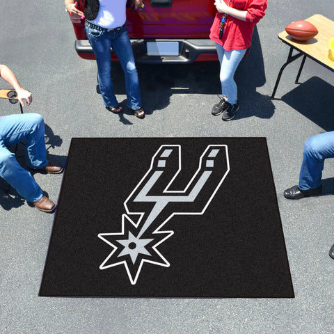 NBA San Antonio Spurs TAILGATER Mat - Bed, Bath, And My Team
