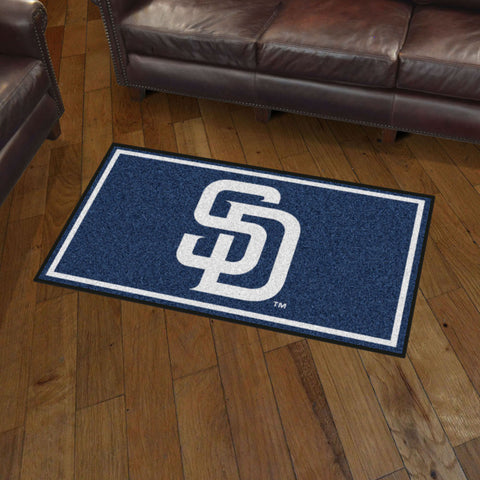 San Diego Padres 3 x 5 area rug