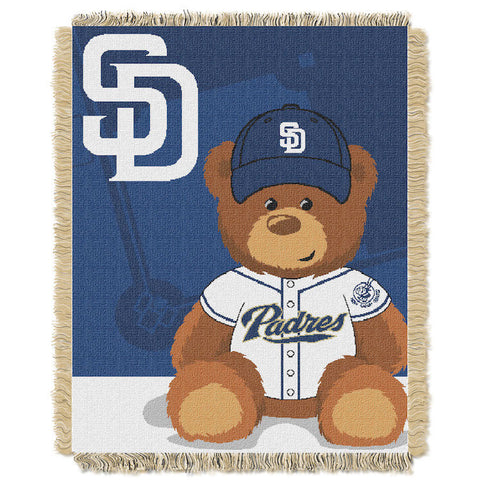 MLB San Diego Padres Baby Blanket - Bed, Bath, And My Team