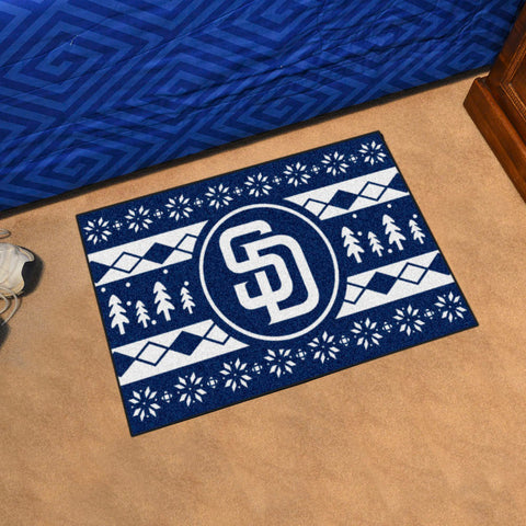 MLB San Diego Padres CHRISTMAS SWEATER Starter Rug - Bed, Bath, And My Team
