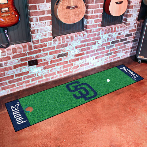 MLB San Diego Padres Putting Green Mat - Bed, Bath, And My Team