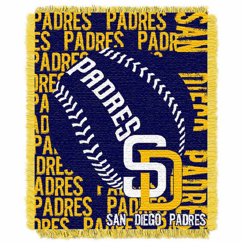 MLB San Diego Padres Woven Decorative Tapestry - Bed, Bath, And My Team