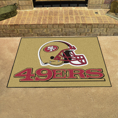 NFL San Francisco 49ers ALL STAR Rug - Bed, Bath, And My Team