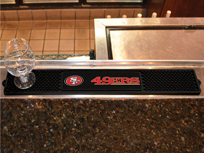 NFL San Francisco 49ers Bar and Drink Mat - Bed, Bath, And My Team