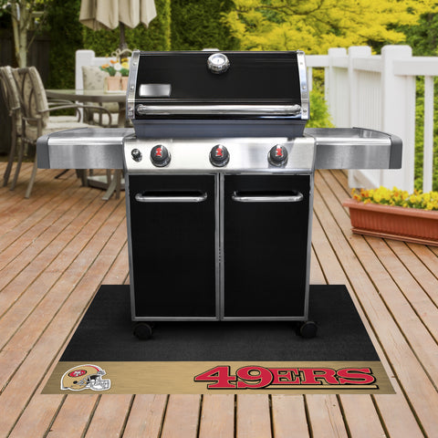 NFL San Francisco 49ers Grill Mat - Bed, Bath, And My Team
