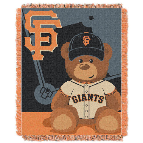 MLB San Francisco Giants Baby Blanket - Bed, Bath, And My Team