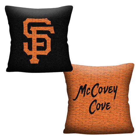 MLB San Francisco Giants INVERT Throw Pillow - Bed, Bath, And My Team