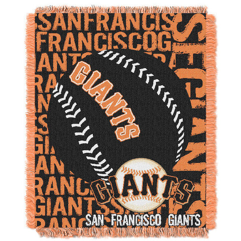 MLB San Francisco Giants Woven Decorative Tapestry - Bed, Bath, And My Team