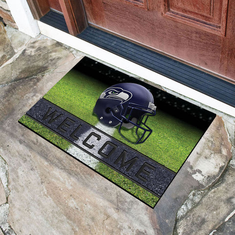 Seattle Seahawks Crumb Doormat