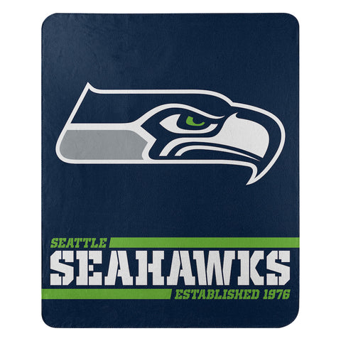 Seattle Seahawks Fleece Throw