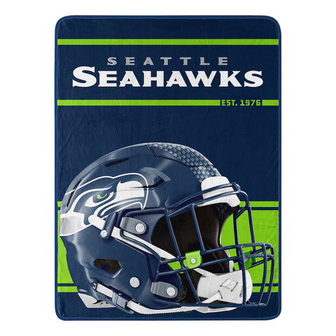 Seattle Seahawks Micro Raschel Throw