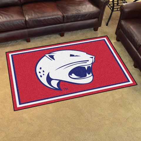 South Alabama Jaguars 4 x 6 area rug