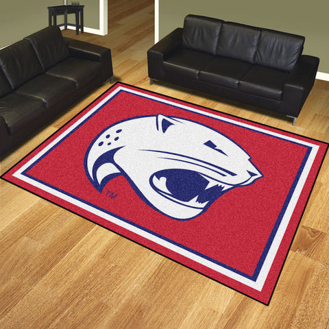 South Alabama Jaguars 8 x 10 area rug