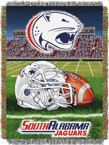 South Alabama Jaguars Home Field Advantage Tapestry