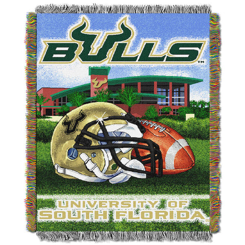 South Florida Bulls Home Field Advantage Tapestry