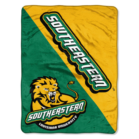 Southeastern Louisiana Lions Micro Raschel Throw