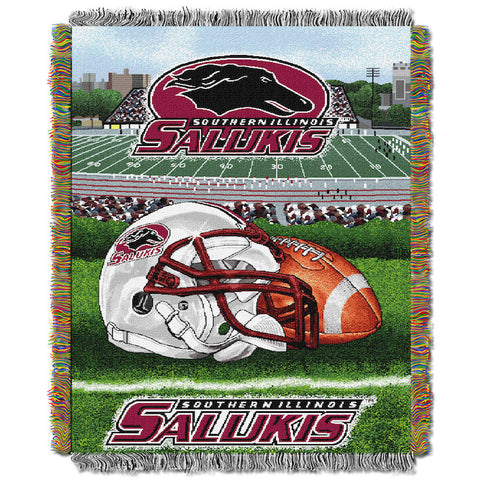 Southern Illinois Salukis Home Field Advantage Tapestry