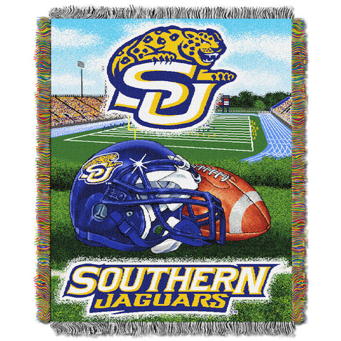Southern Jaguars Home Field Advantage Tapestry