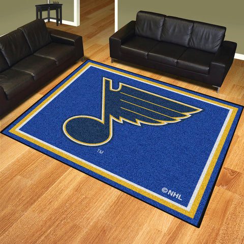 NHL St. Louis Blues 8 X 10 Ft. Area Rug - Bed, Bath, And My Team