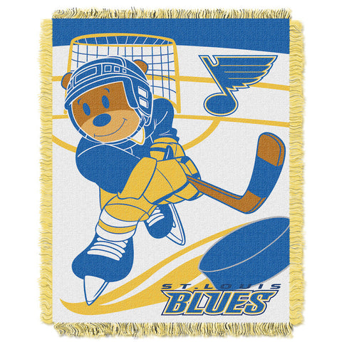 NHL St. Louis Blues Baby Blanket - Bed, Bath, And My Team