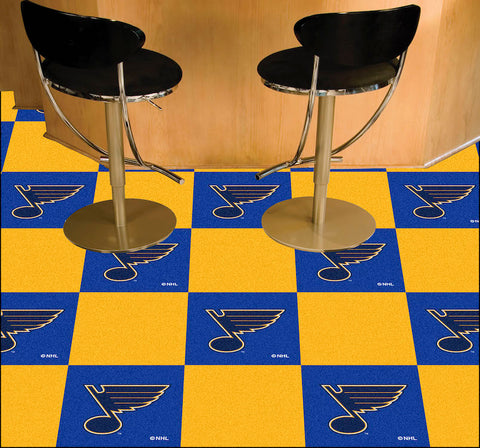 NHL St. Louis Blues Carpet Tiles - Bed, Bath, And My Team