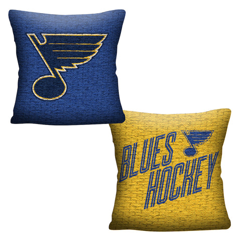 NHL St. Louis Blues INVERT Throw Pillow - Bed, Bath, And My Team