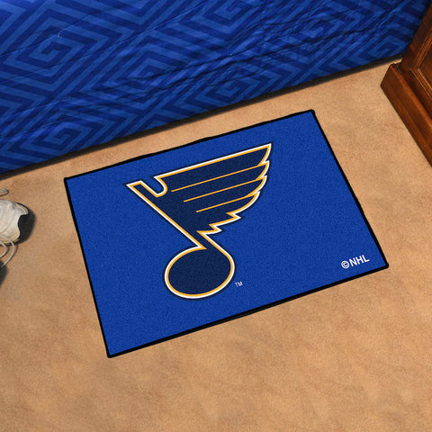 NHL St. Louis Blues STARTER Rug - Bed, Bath, And My Team