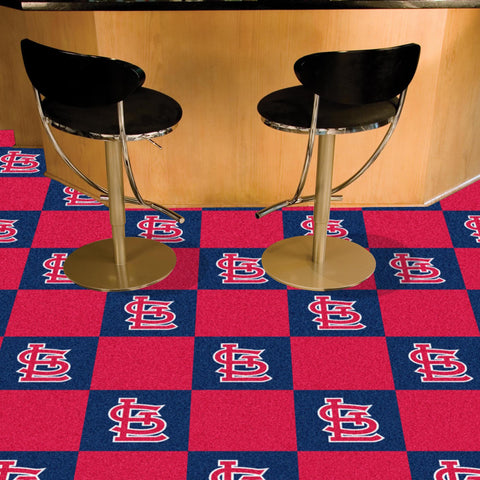 St. Louis Cardinals Carpet Tiles