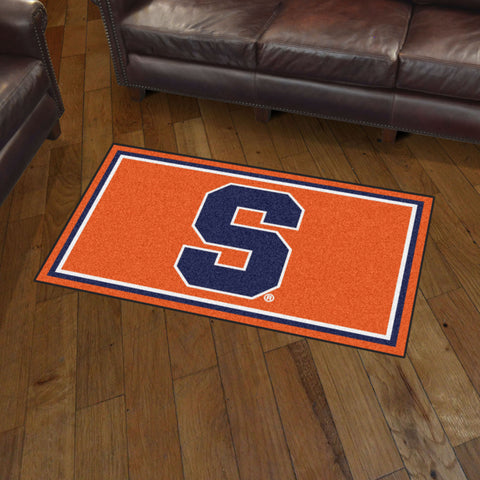 Syracuse Orange 3 x 5 area rug