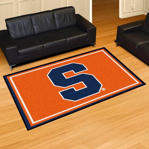 Syracuse Orange 5 x 8 area rug