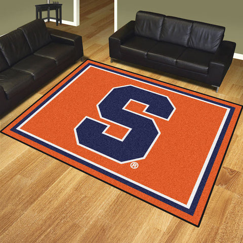 Syracuse Orange 8 x 10 area rug