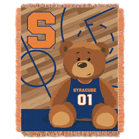 Syracuse Orange Baby Blanket