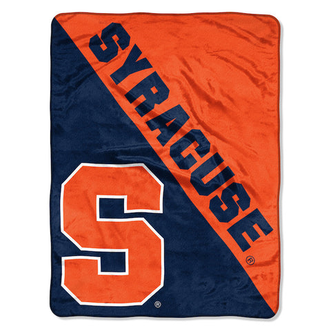 Syracuse Orange Micro Raschel Throw