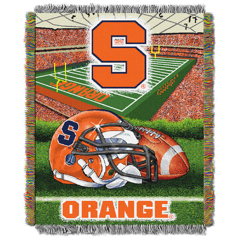 Syracuse Orange Home Field Advantage Tapestry