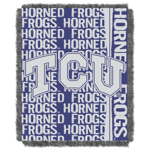 TCU Horned Frogs Woven Tapestry