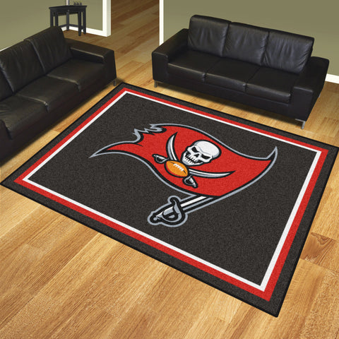 NFL Tampa Bay Buccaneers 8 X 10 Ft. Area Rug - Bed, Bath, And My Team