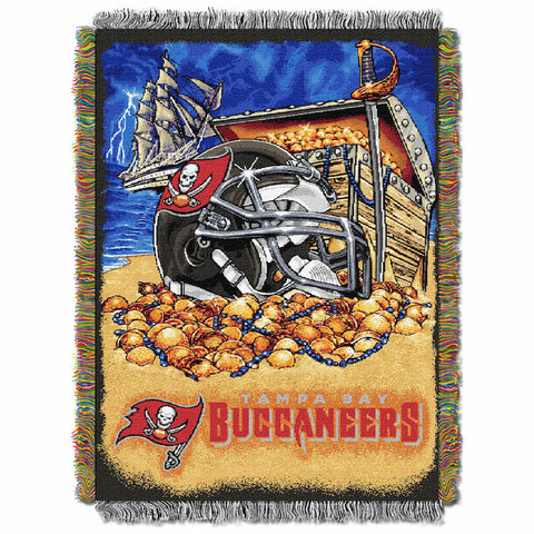 NFL Tampa Bay Buccaneers HOME FIELD ADVANTAGE Tapestry - Bed, Bath, And My Team