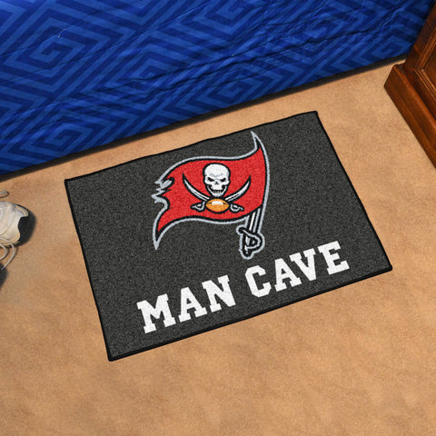 NFL Tampa Bay Buccaneers Man Cave STARTER Rug - Bed, Bath, And My Team