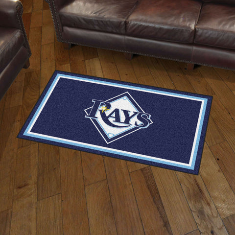 Tampa Bay Rays 3 x 5 area rug