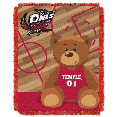 Temple Owls Baby Blanket