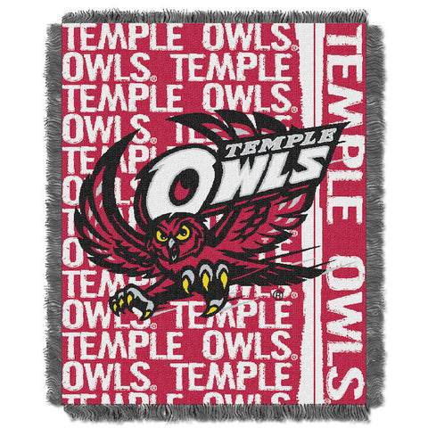 Temple Owls Woven Tapestry