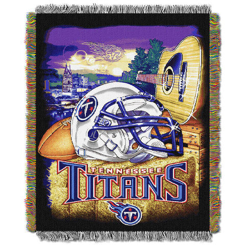 Tennessee Titans Home Field Advantage Tapestry