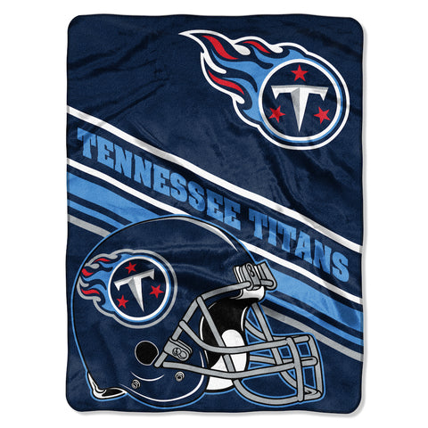 Tennessee Titans large plush blanket