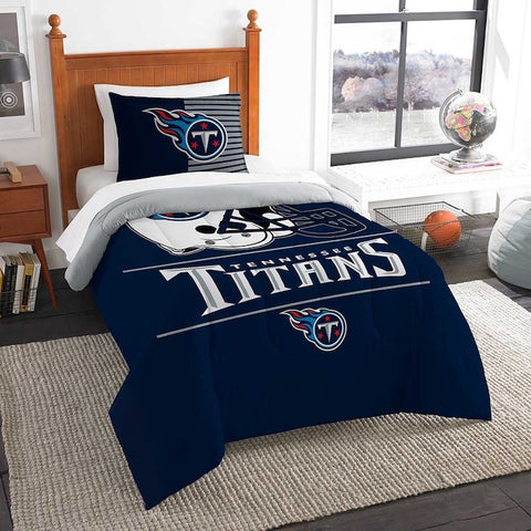 Tennessee Titans twin comforter and pillow sham