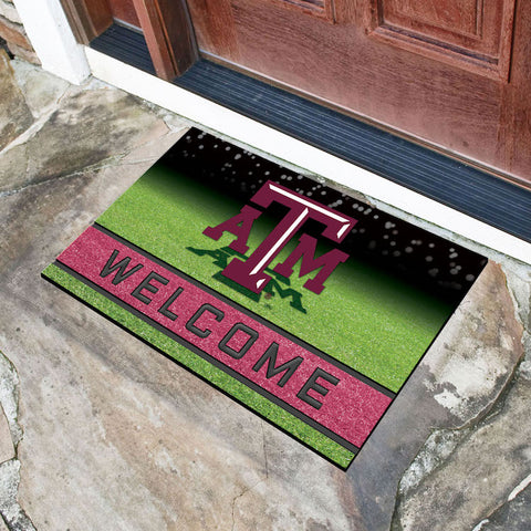 NCAA Texas A&M Aggies Recycled Rubber CRUMB Doormat - Bed, Bath, And My Team