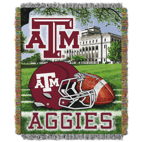 Texas A&M Aggies Home Field Advantage Tapestry