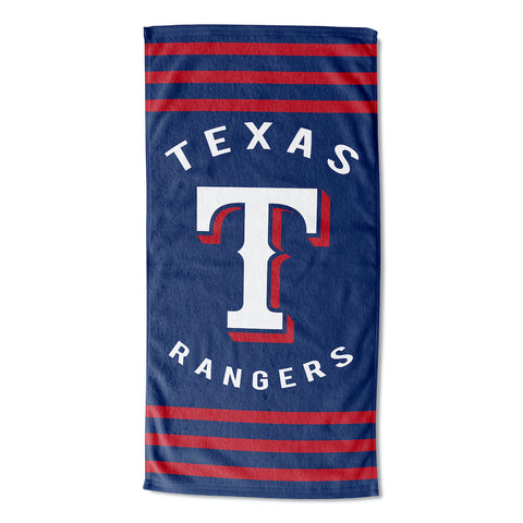 Texas Rangers Beach Towel