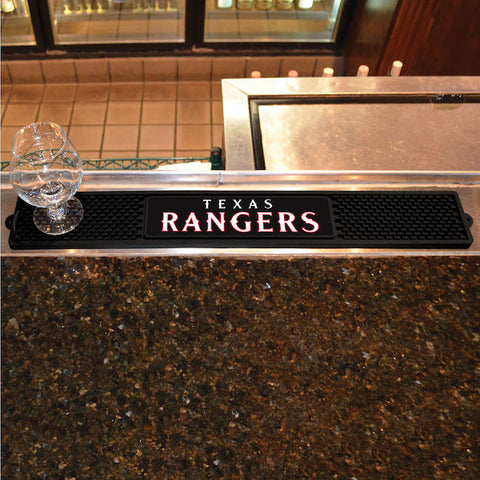 Texas Rangers Bar Drink Mat